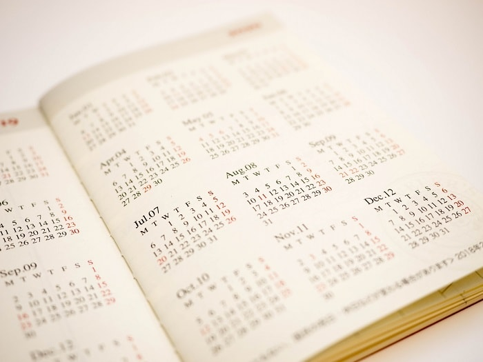 年間休日の平均はどのくらい?年間休日数の多い業種など併せて紹介